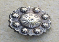 antique metal stud for belts