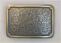 plaque buckle / ant. bass
