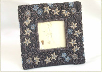 Photoframe embroidered